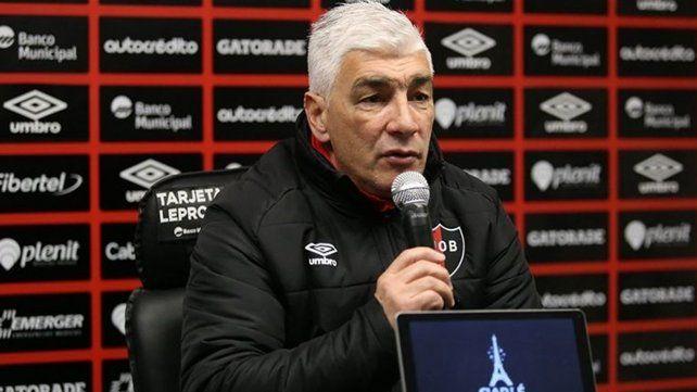 De Felippe anticipó que prepara dos o tres cambios en el equipo para Copa Argentina