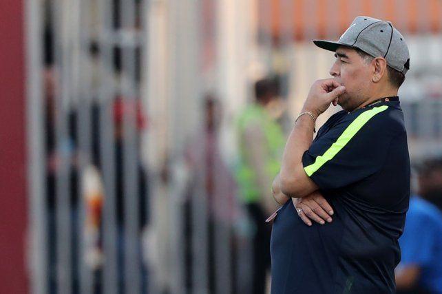 Maradona dirigirá a un equipo del ascenso del fútbol mexicano