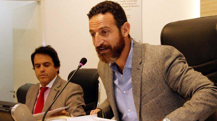 El concejal Roberto Sukerman