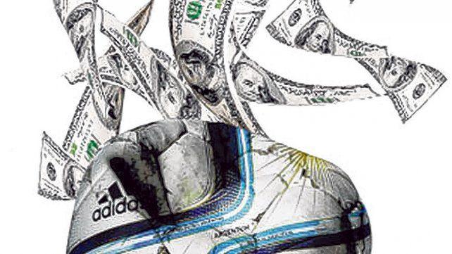 Por la suba del dólar, el fútbol está verde