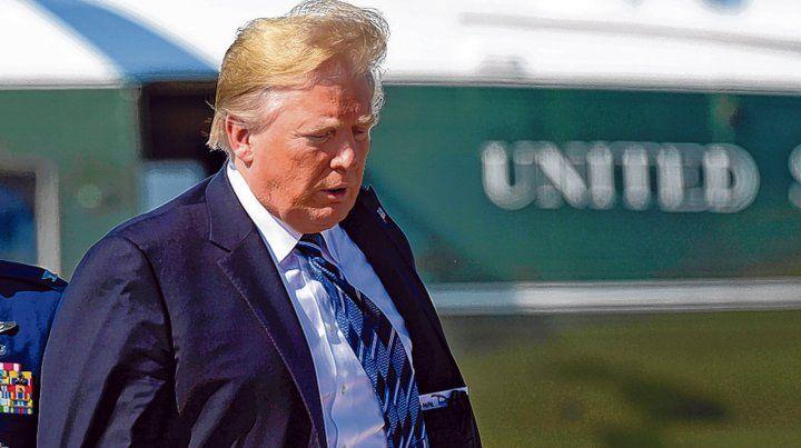 En busca del topo. El imprevisible presidente calificó la nota periodística de cobarde y vergonzosa.