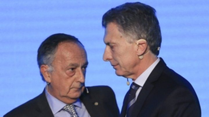 Crítico. Acevedo se vio cara a cara con Macri el lunes en el foro de la UIA.