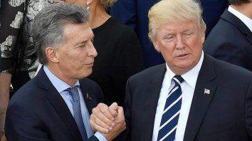 Trump y Macri