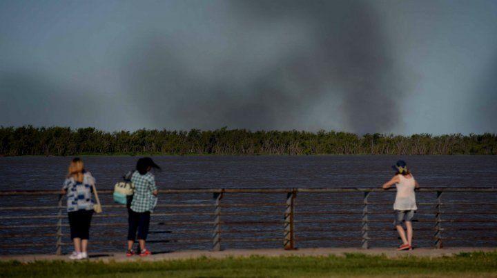 Los incendios en las islas