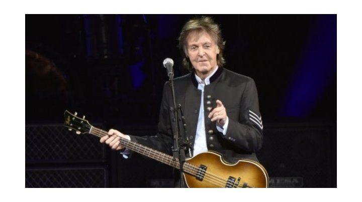 Paul McCartney sorprende con un concierto en vivo en YouTube