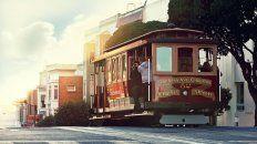 Típico viaje. Encaramarse sobre uno de los viejos tranvías, es una buena alternativa para conocer y disfrutar la elegante y cosmopolita ciudad de San Francisco, en la costa oeste de los Estados Unidos.