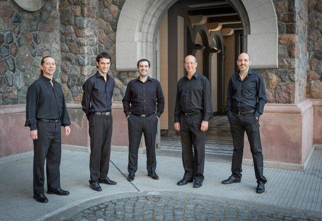 El Quinteto que lleva 20 años de carrera interpretará clásicos y también temas poco transitados de Piazzolla.