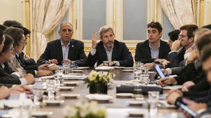 Rogelio Frigerio comanda las negociaciones por el presupuesto con los ministros de Economía de todas las provincias.