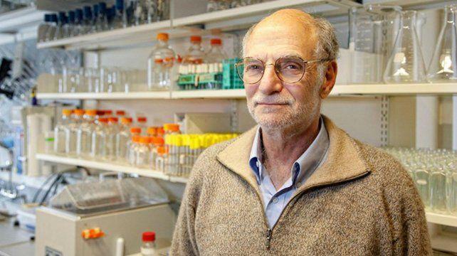 Investigador. Michael Rosbash ganó el Nobel de Medicina en 2017.