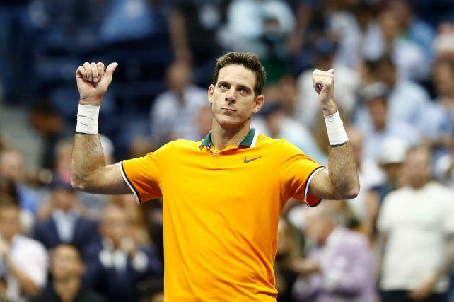 Delpo alcanzó otra vez la final del Grand Slam de Estados Unidos.