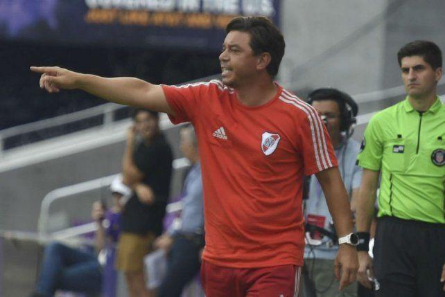 Definió el plantel. Gallardo aprovechará el amistoso para ver a algunos jugadores.