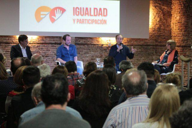 Giustiniani cuestionó la política económica del gobierno de Macri