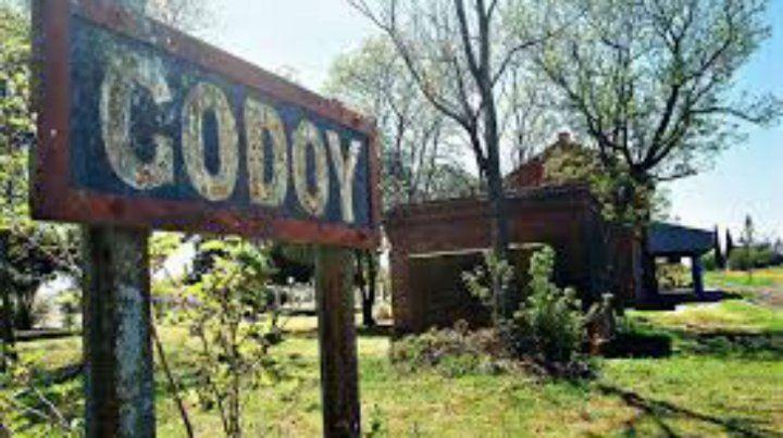 El accidente ocurrió cerca de Godoy.