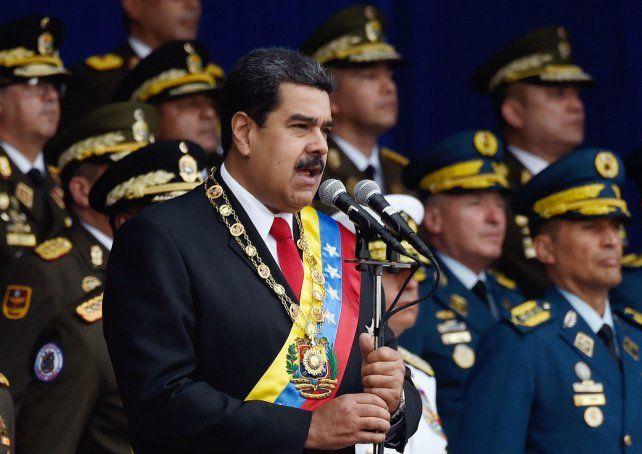 Denuncia. Maduro hizo responsable a EEUU de muchos de sus problemas.