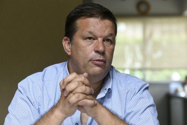 Preocupado. Juan José Concina dijo que al acusado sólo lo conoce de haberlo visto en alguna asamblea.