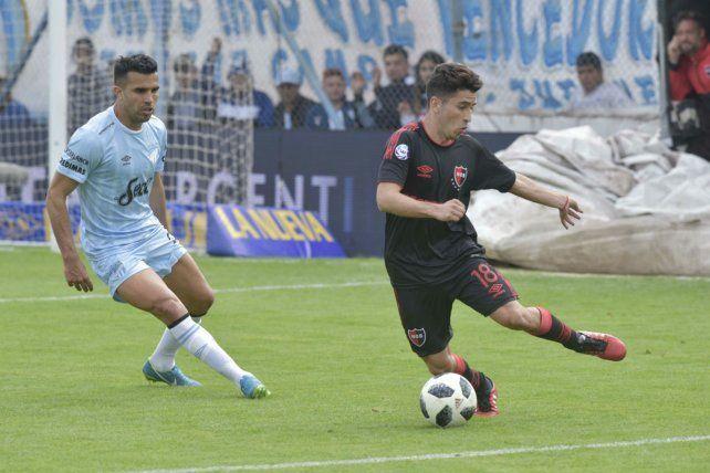 Joaquín Torres ingresó para los últimos veinte minutos