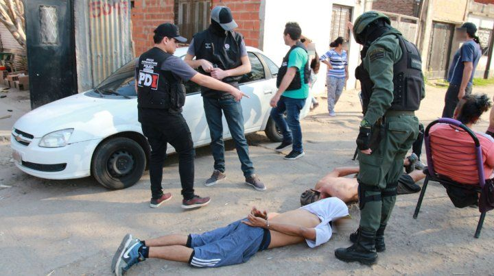 Allanamientos contra vendedores de droga en la zona sudoeste