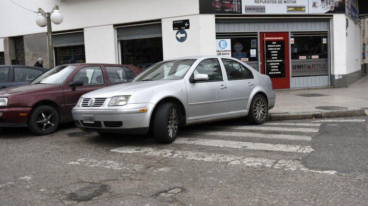 Los peatones tendrán problemas para cruzar.