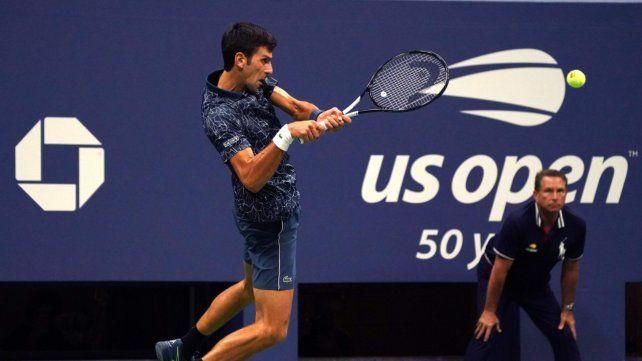 Del Potro no pudo con Djokovic en la final del Abierto de EE.UU.