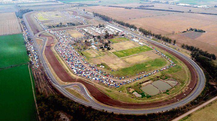 Impresionante. Miles tuercas hicieron base en Paraná en el fin de semana.