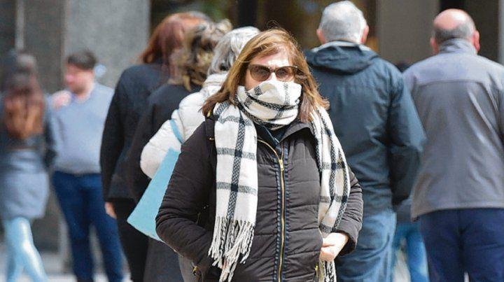 En Rosario. En la región tuvimos el invierno más frío desde 2007.