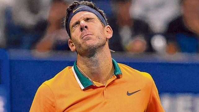 Derrota. Juan Martín Del Potro no estuvo tan fino como se venía mostrando y sucumbió ante un Djokovic que no lo perdonó.