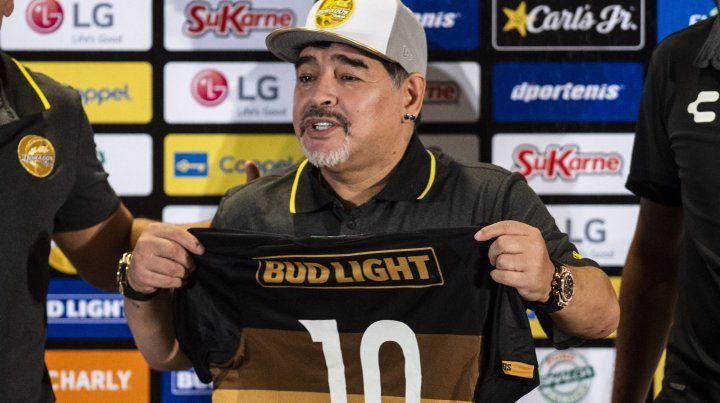 Diego arrancó su ciclo en Dorados de México.
