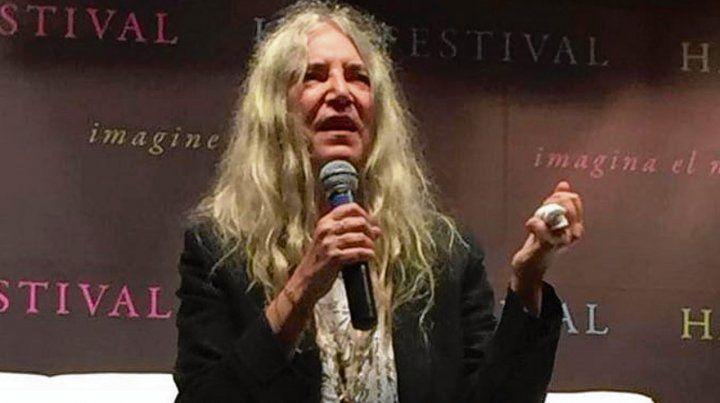 Patti Smith y un mensaje para las argentinas