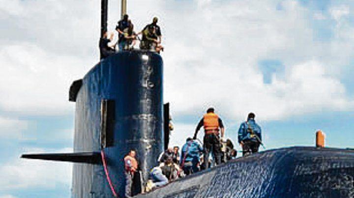 El submarino desaparecido.
