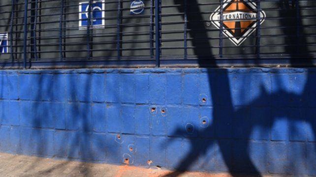 Mitre y La Paz. Antenucci disparó el martes contra el local de Concina.