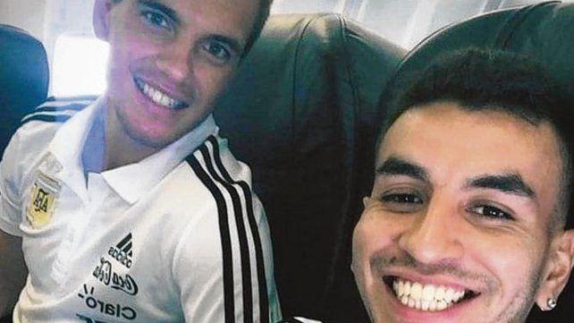 Lo Celso y Correa, rosarinos en vuelo desde Los Angeles