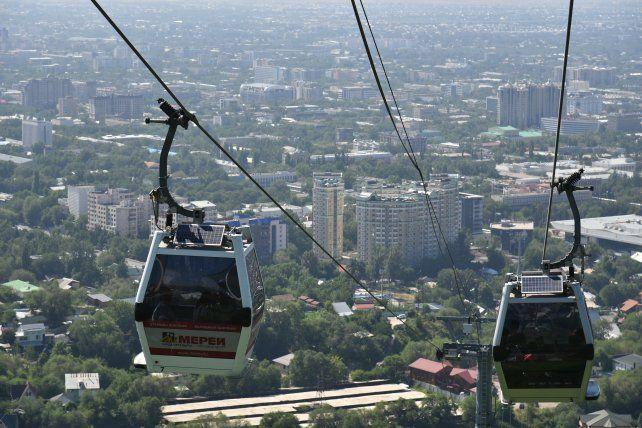 Almaty, la ciudad kazaja de los mil colores