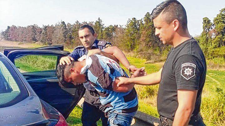 La detención. Pérez fue aprehendido el domingo por la tarde