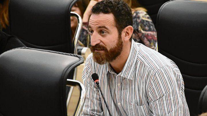Sin datos. El concejal Sukerman denunció incumplimiento del Ejecutivo.
