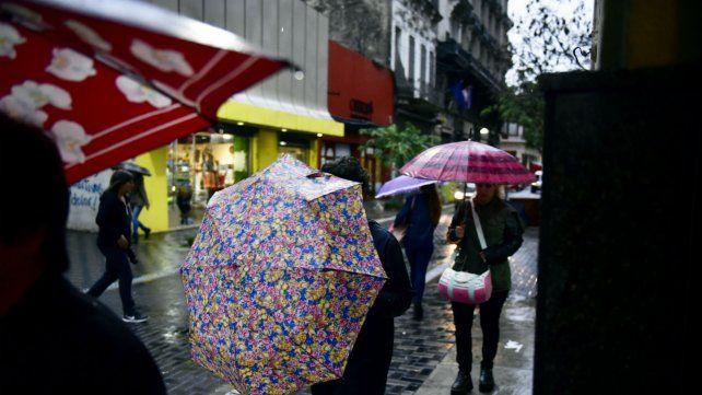 Para hoy el Servicio Meteorológico anticipa lluvias durante gran parte del día.