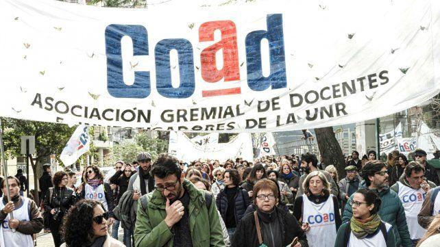 Nuevo paro de docentes universitarios contra el ajuste del gobierno nacional