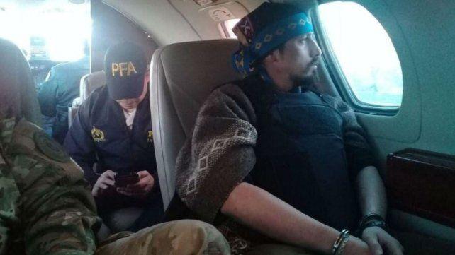 Extraditan a Chile al líder mapuche Jones Huala