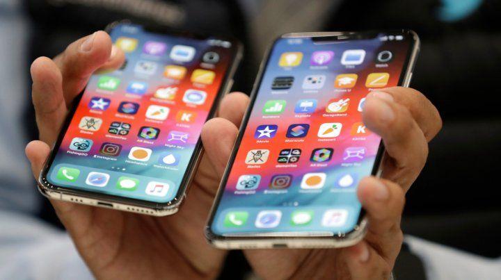 Chiches nuevos. Apple presentó en Cupertino el iPhone Xs y el Xs Max.