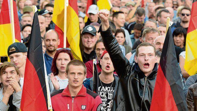 Racismo. El asesinato de un alemán desató protestas de la ultraderecha.