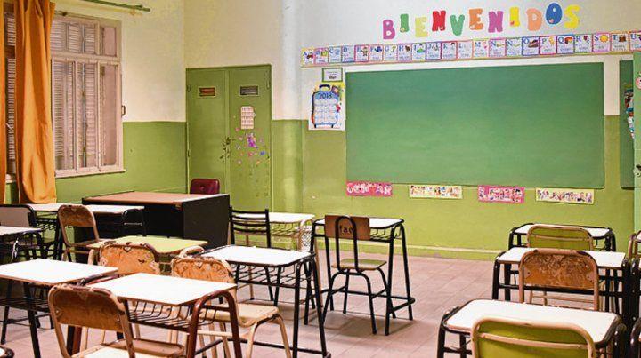 Las aulas permanecerán vacías.
