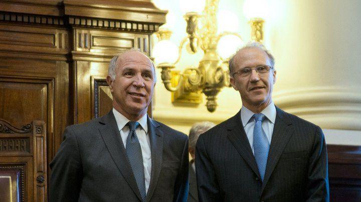 enroque. Lorenzetti será reemplazado por Rosenkrantz como titular de la Corte a partir del 1º de octubre.