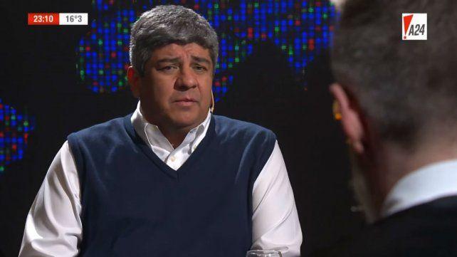 Pablo Moyano: No vemos a la CGT en la calle con los trabajadores