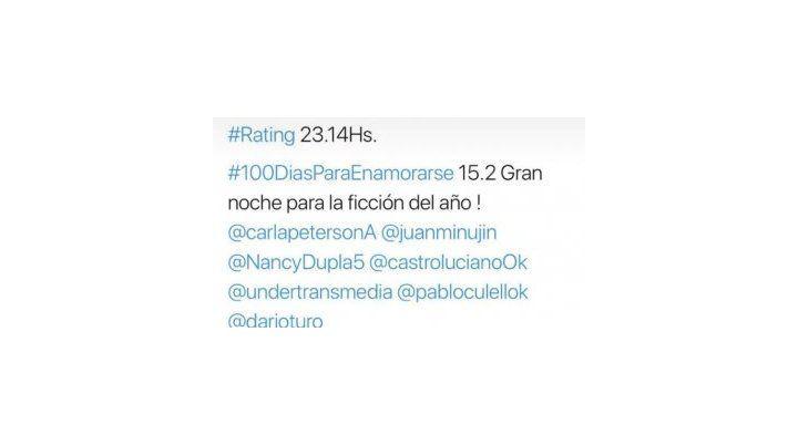 Sebastián Ortega se burló de Tinelli porque le gana en el rating