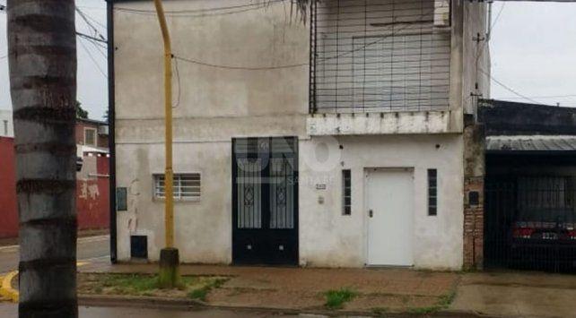 La casa donde fue atacada la abogada santafesina. (Foto: gentileza diario Uno)
