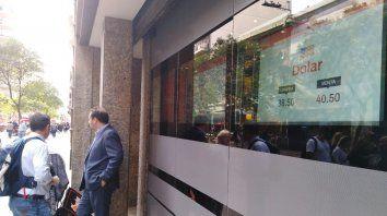 El dólar superó la barrera de los 40 pesos en Rosario.