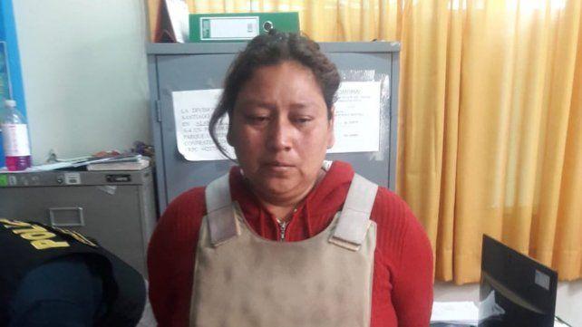 La foto de la acusada que difundió la policía de Perú.