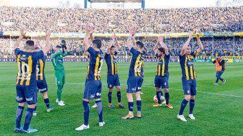 El último. Central recibió a los tucumanos de San Martín y venció 2-0. En este torneo también le ganó a Banfield (1-0).