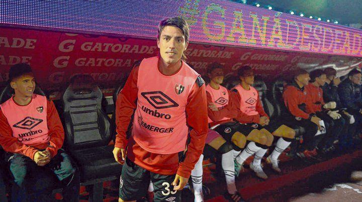 De relevo. Formica fue al banco en su presentación ante Independiente y ante el Tomba. Fue titular ante los tucumanos.