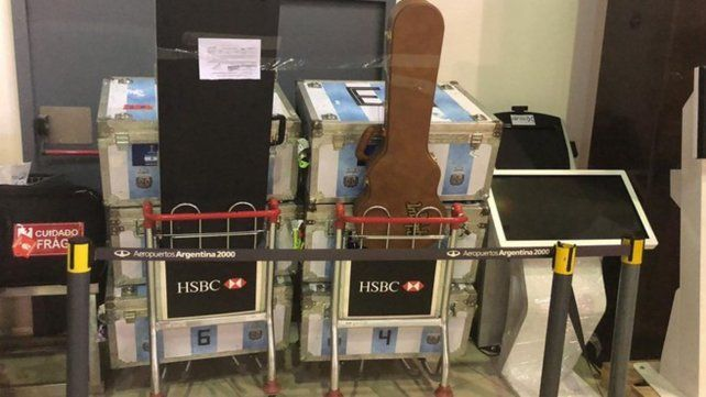 La Afip publicó imágenes de la mercadería demorada.