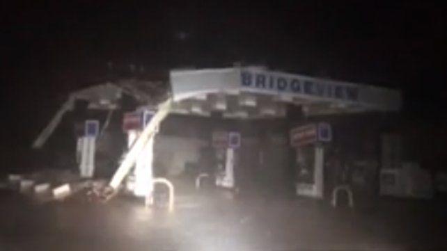 Los videos más impactantes de los destrozos de Florence